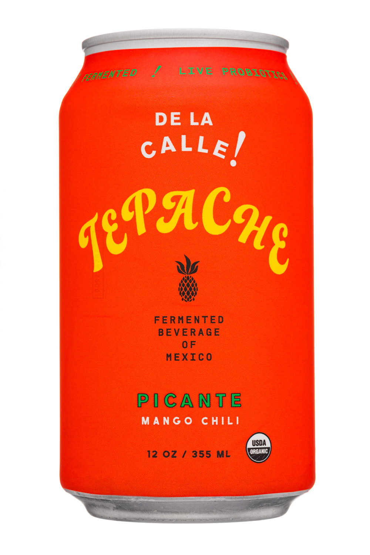De La Calle!: Tepache-12oz-2020-FermBev-Picante-Front