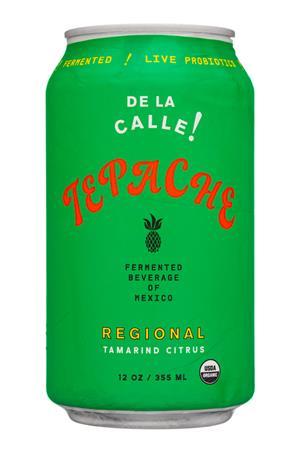 De La Calle!: Tepache-12oz-2020-FermBev-Regional-Front
