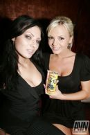 Deep Throat Energy - Ava Rose and Bree Olson photo by AVN
