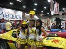 Deep Throat Girls and Robert Interlandi with the Deep Throat Corvette