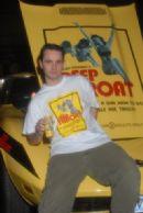 Deep Throat Corvette and Robert Interlandi from AEE show