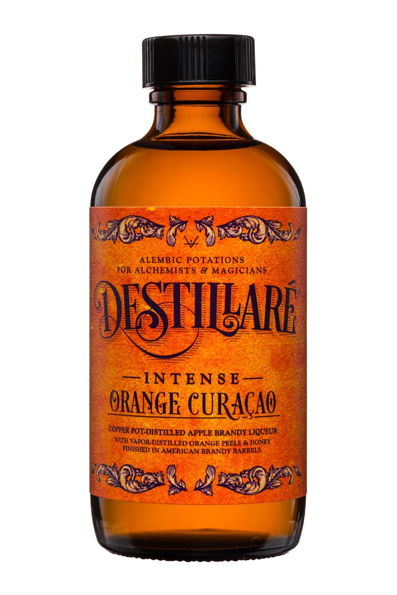 Destillare: Destillare-Intense-OrangeCuracao-AppleBrandyLiquer