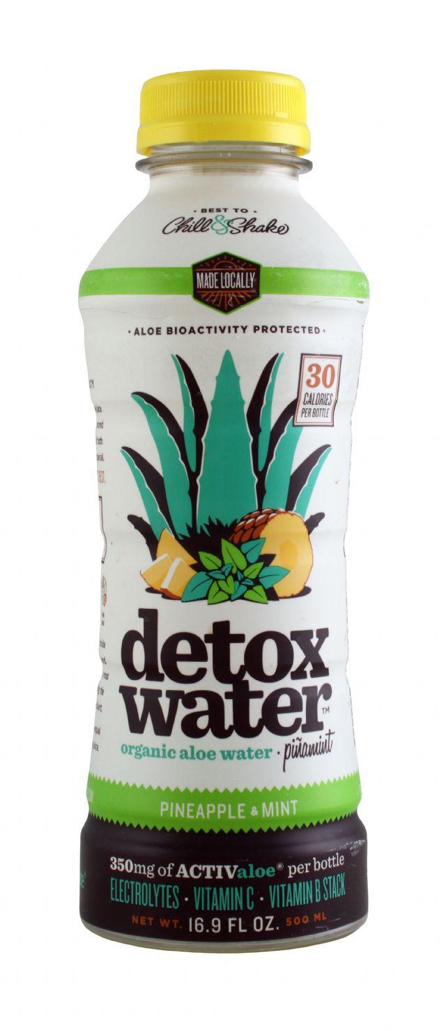 Detox Water: Detox PineMint Front