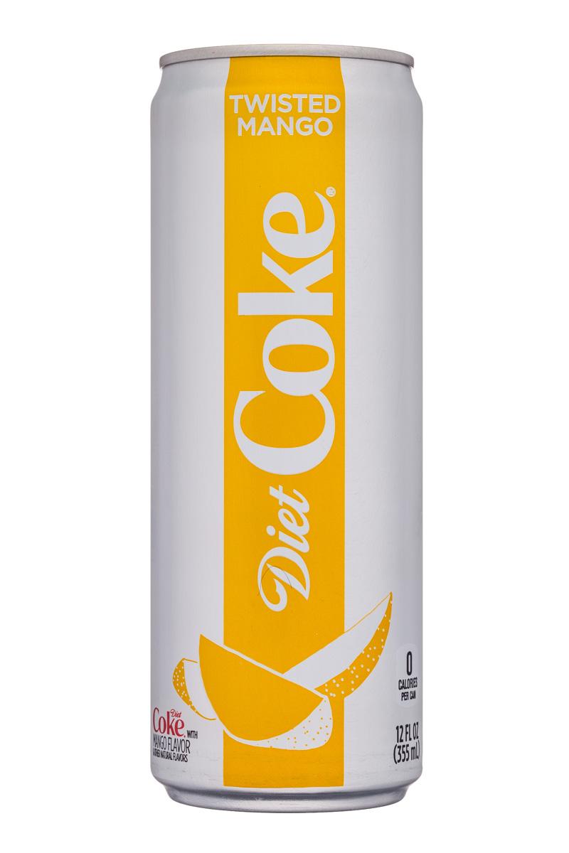 Diet Coke: CocaCola-12oz-Diet-TwistedMango-Front