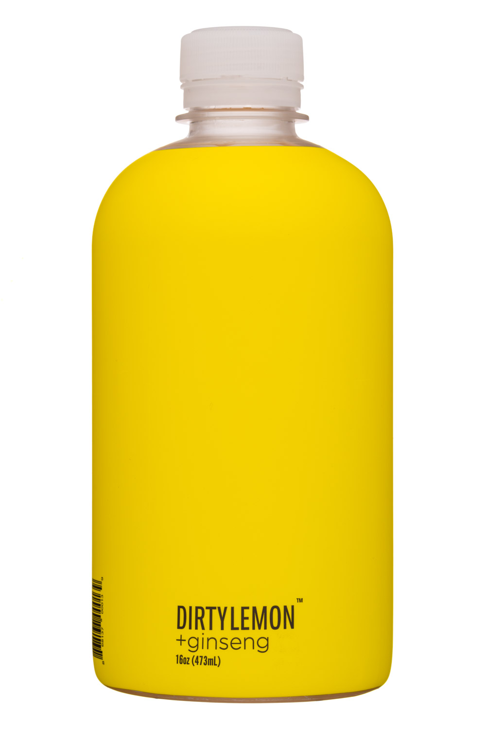 DIRTY LEMON: DirtyLemon-16oz-Ginseng-Front