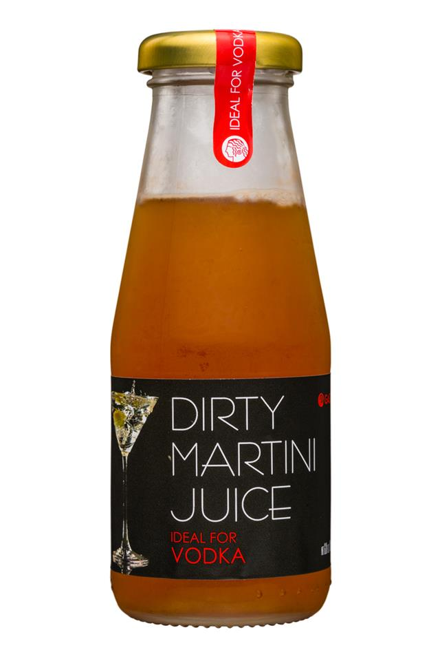 Gaea Dirty Martini Juice: GAEA-DirtyMartiniJuice-Vodka-Front