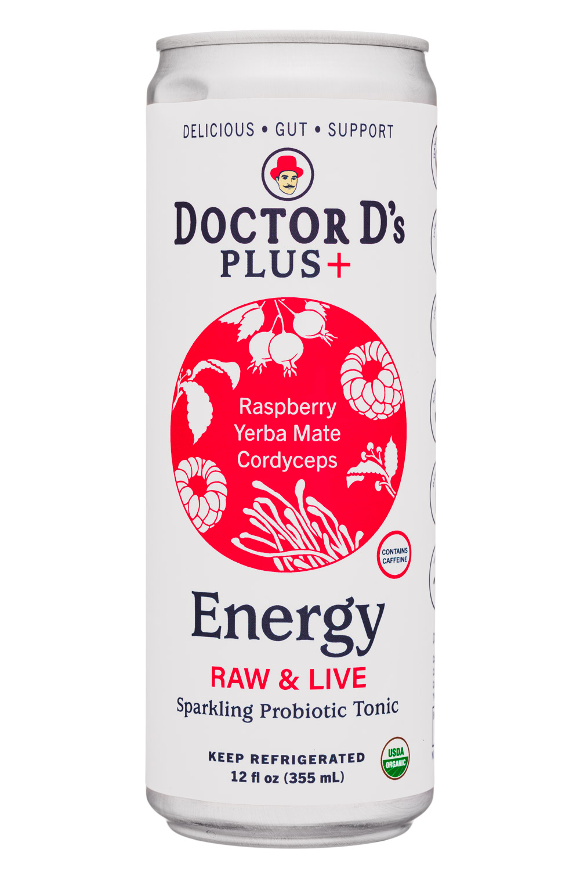Energy: Raspberry, Yerba Mate, Cordyceps