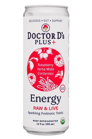 Doctor D's : DoctorDs-12oz-2021-SprkProbTonic-Energy-Front