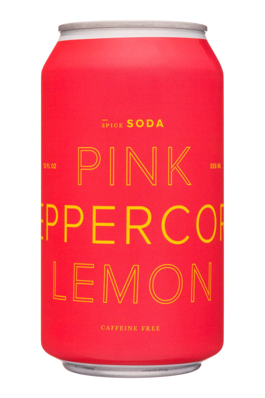 Dona Spiced Sodas: Dona-12oz-SpiceSoda-PinkPeppLemon-Front