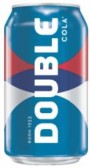 The bold new look of Double-Cola.