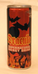Dracula Supernatural Energy Drink