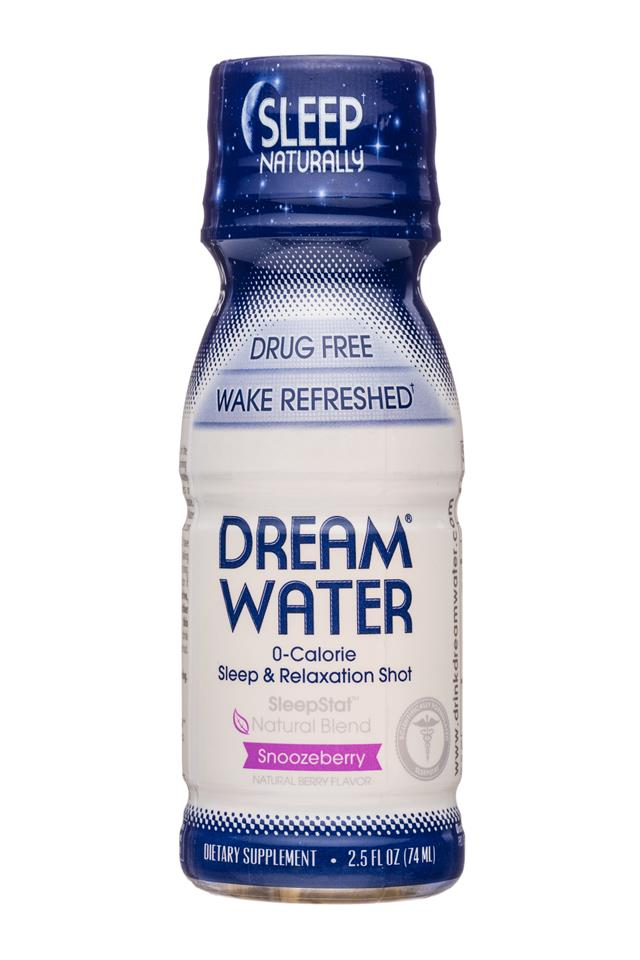 Dream Water: DreamWater-3oz-SleepShot-Snoozeberry-Front