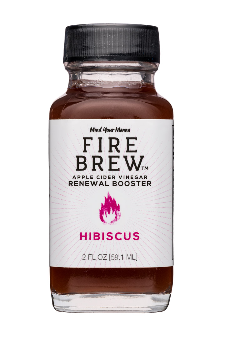 Drink Fire Brew: FireBrew-2oz-ACV-Hibiscus-Front