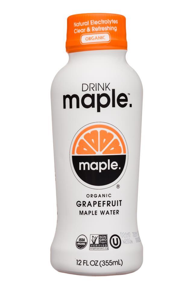 Drink Maple: DrinkMaple-12oz-Maple-Grapefruit-Front
