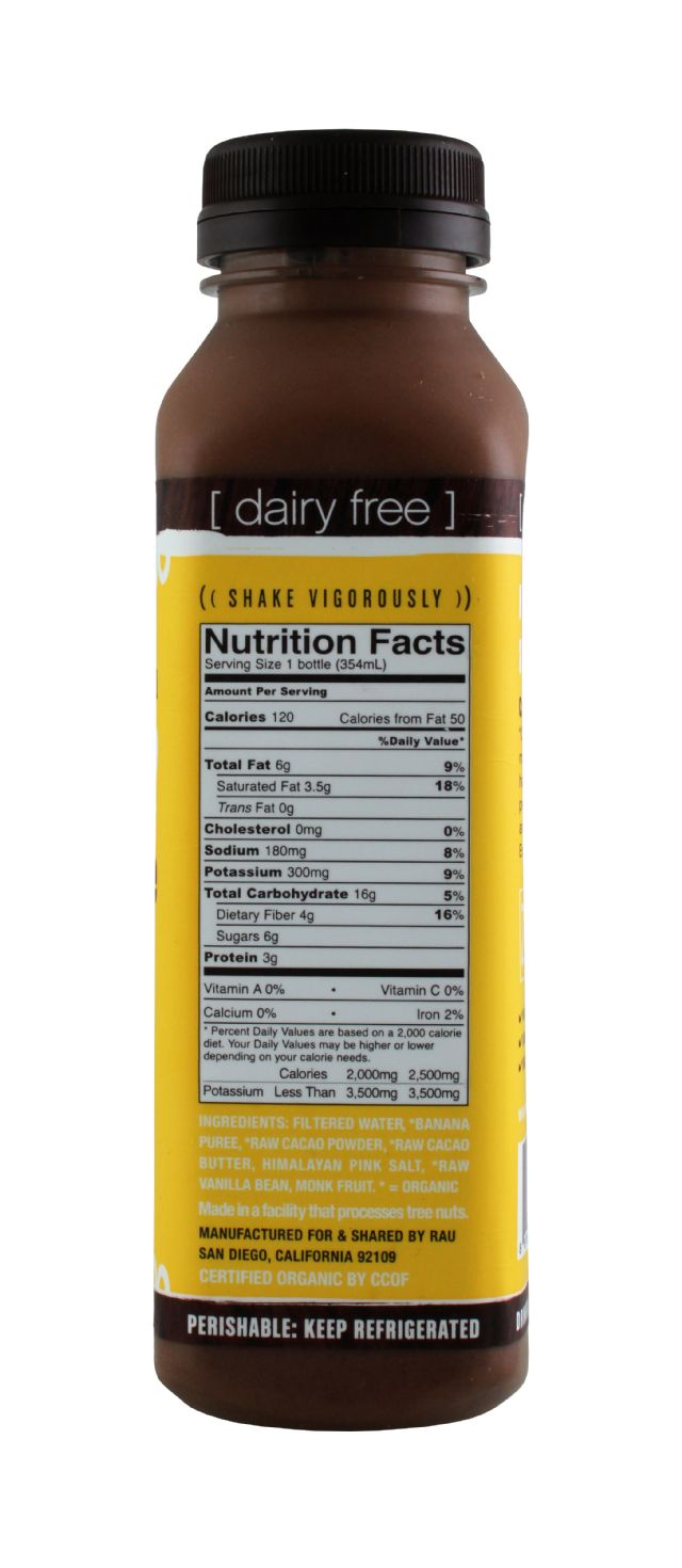 Rau Chocolate: Rau Banana Facts