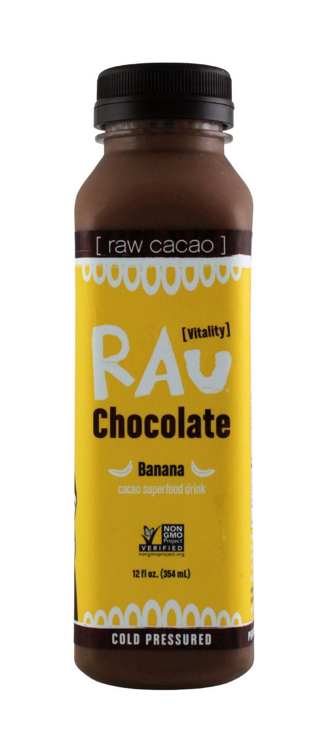 Rau Chocolate: Rau Banana Front