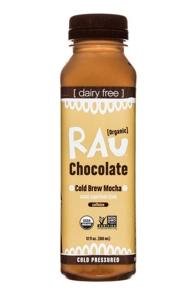 Rau Chocolate: Rau-OG-Choc-12oz-ColdBrewMocha-Front