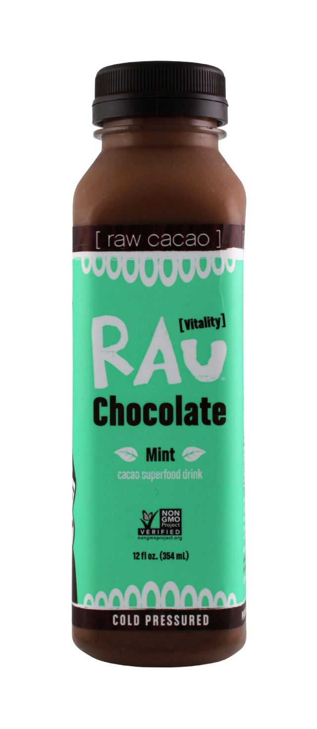 Rau Chocolate: Rau Mint Front