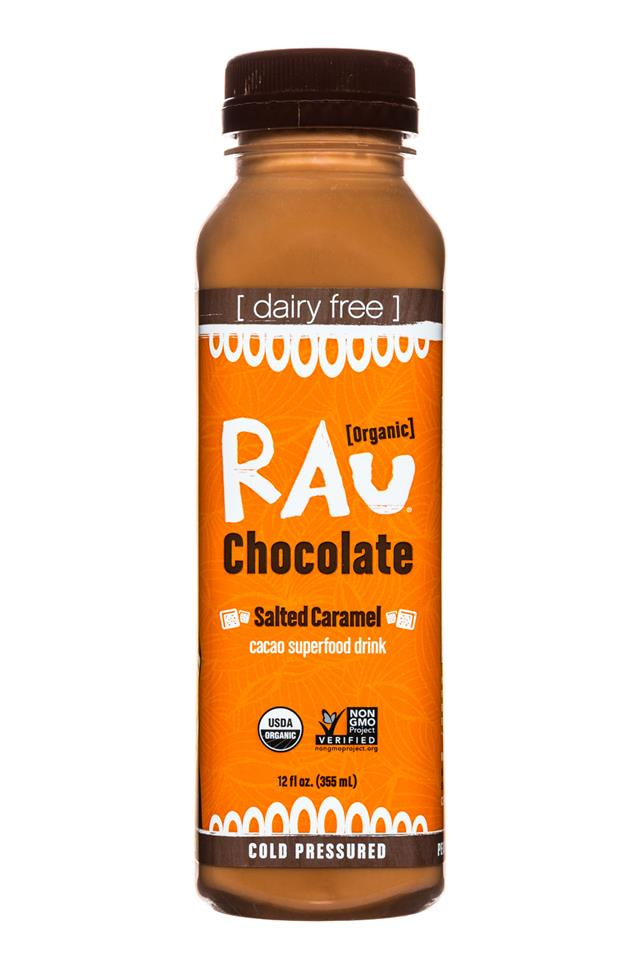 Rau Chocolate: Rau-OG-Choc-12oz-SaltedCaramel-Front