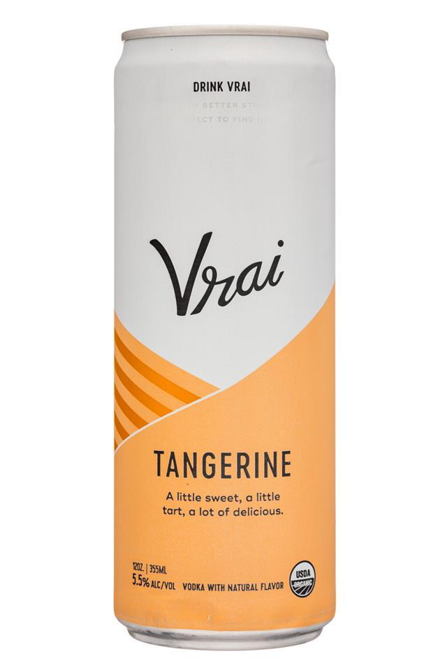 Drink Vrai: Vrai-12oz-Tangerine