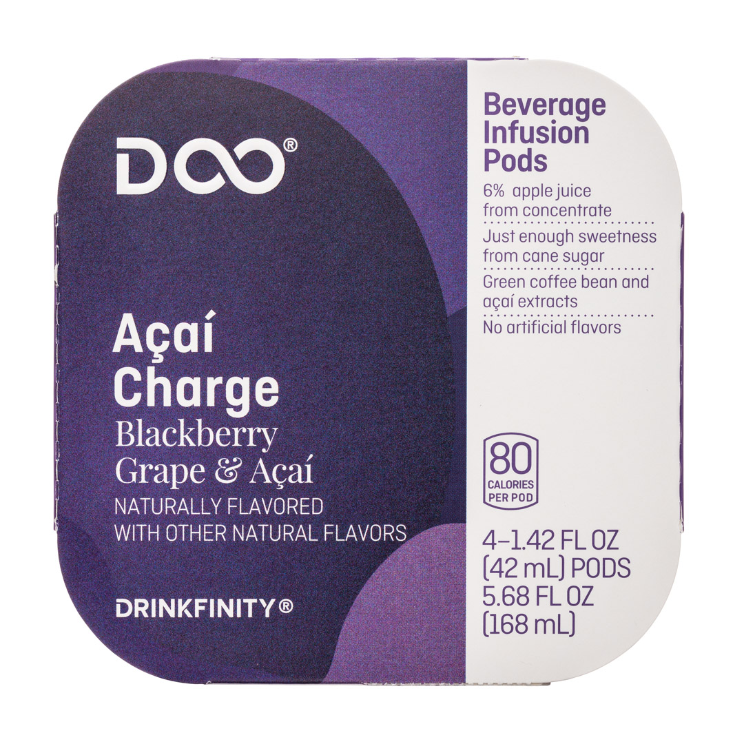 Drinkfinity: Drinkfinity-4pods-Acai-Charge-Front