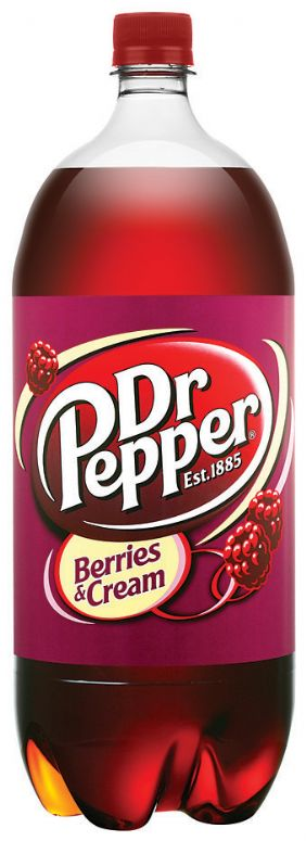 Dr Pepper Berries & Cream: Dr Pepper Berries & Cream