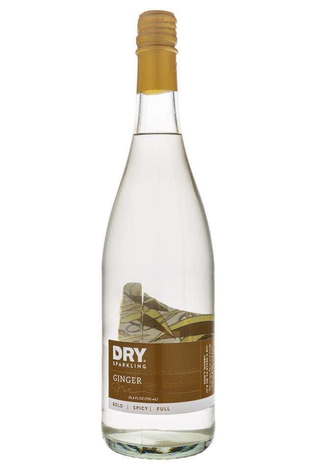 DRY Sparkling: Dry-SparklingWater-Ginger
