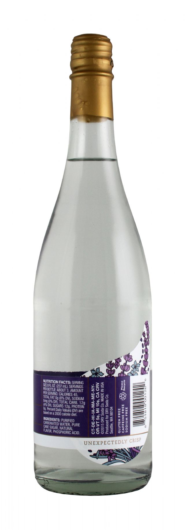 DRY Sparkling: Dry Lavander Facts