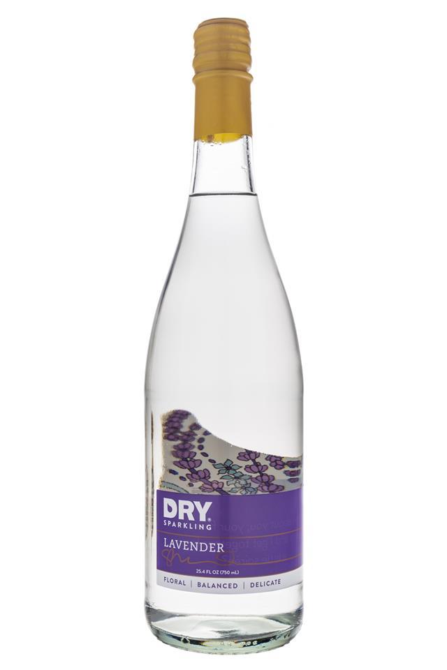 DRY Sparkling: Dry-SparklingWater-Lavender