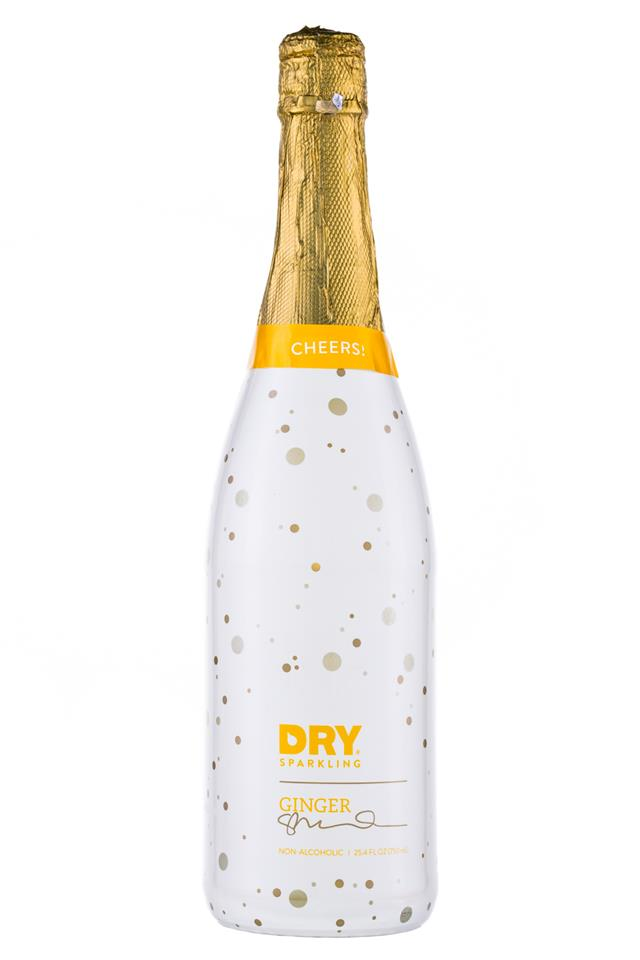 DRY Sparkling: DrySodaCo-Sparkling-25oz-Ginger-Front