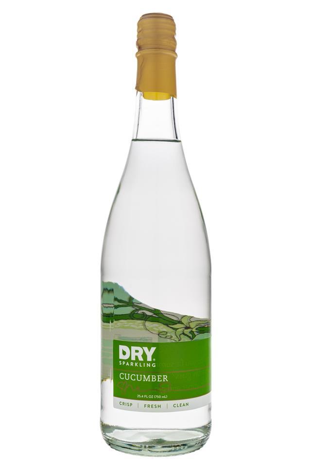 DRY Sparkling: Dry-SparklingWater-Cucumber