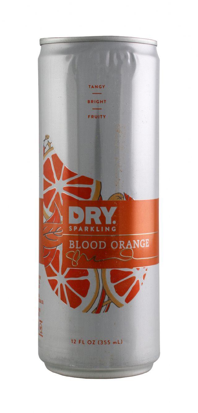 DRY Sparkling: DrySparkCan BloodOrang Front