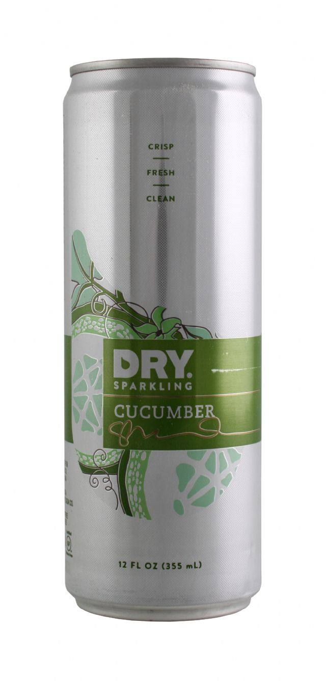 DRY Sparkling: DrySparkCan Cucumber Front