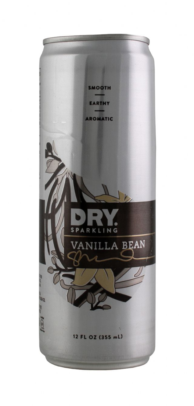 DRY Sparkling: DrySparkCan VanBean Front