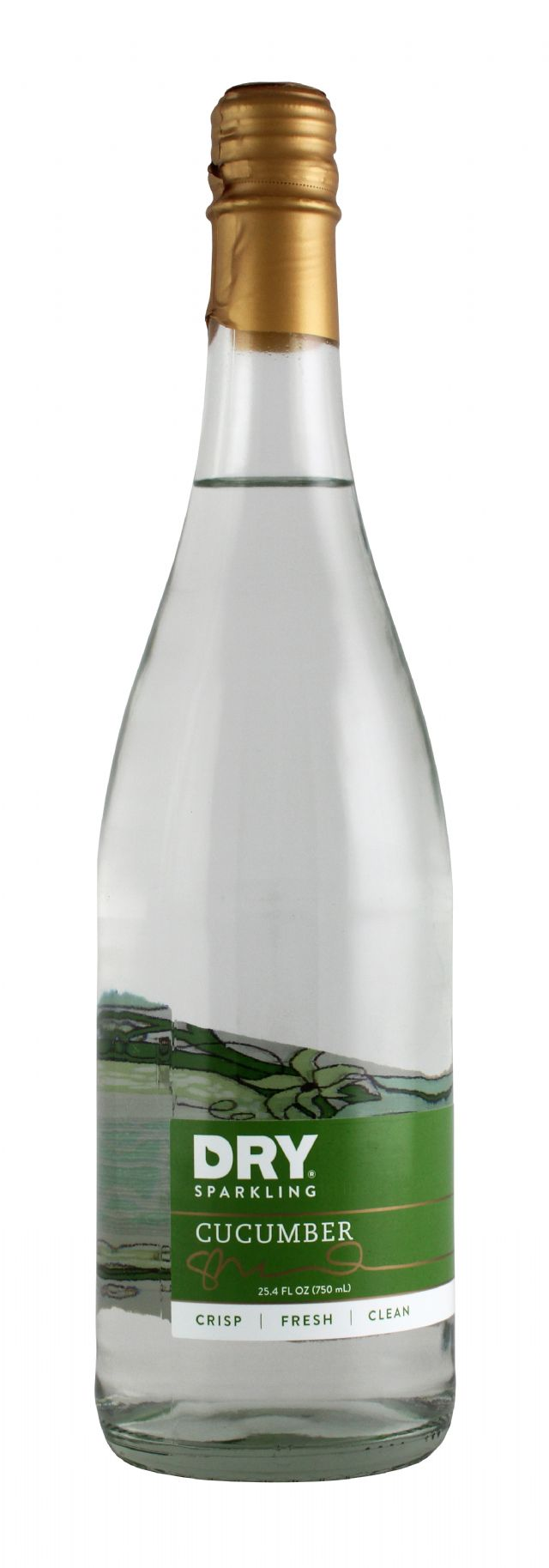 DRY Sparkling: Dry Cucumber Front