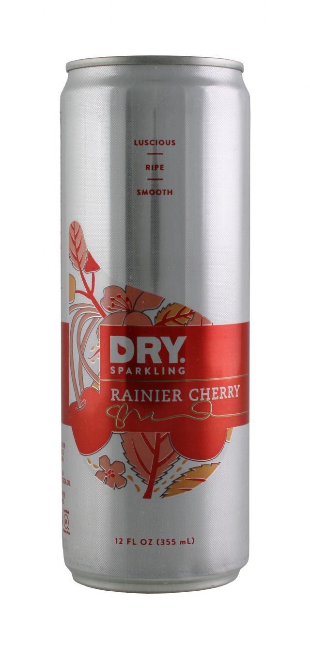 DRY Sparkling: DrySparkCan RainCherry Front