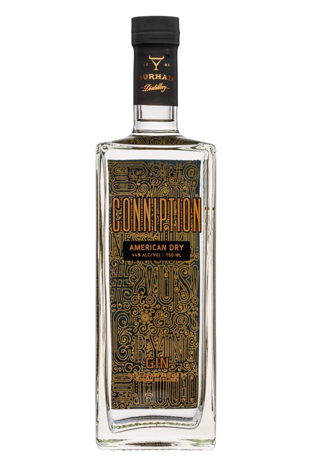 Durham Distillery: Conniption-750ml-AmericanDry
