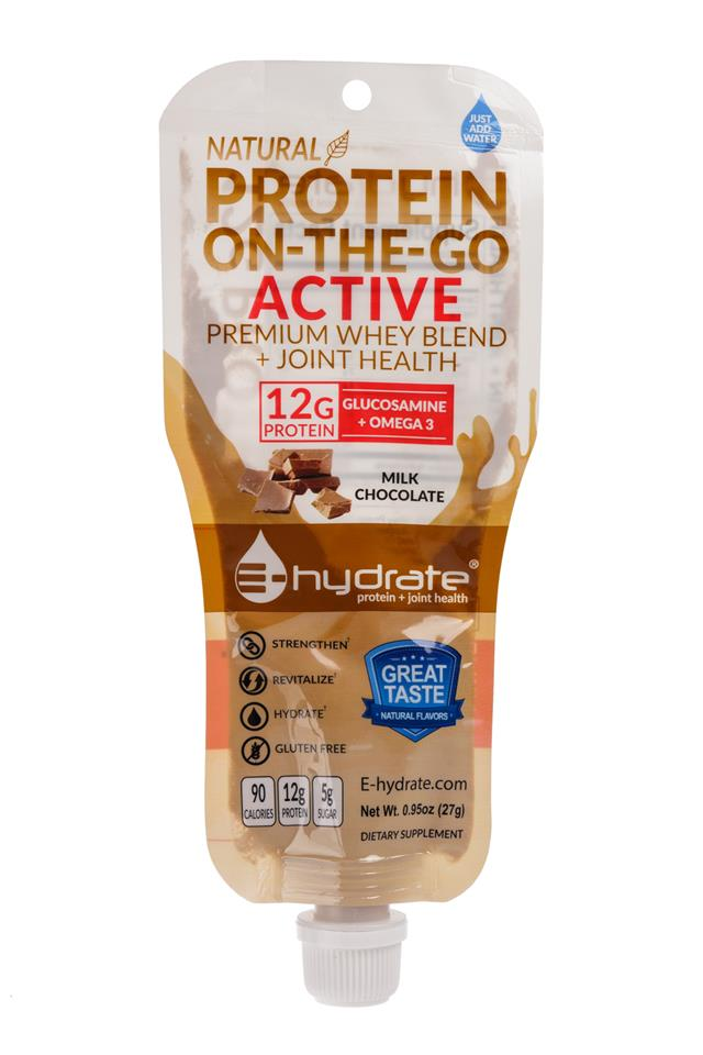 E-hydrate: EProtein-ProteinOnTheGo-Chocolate-Front