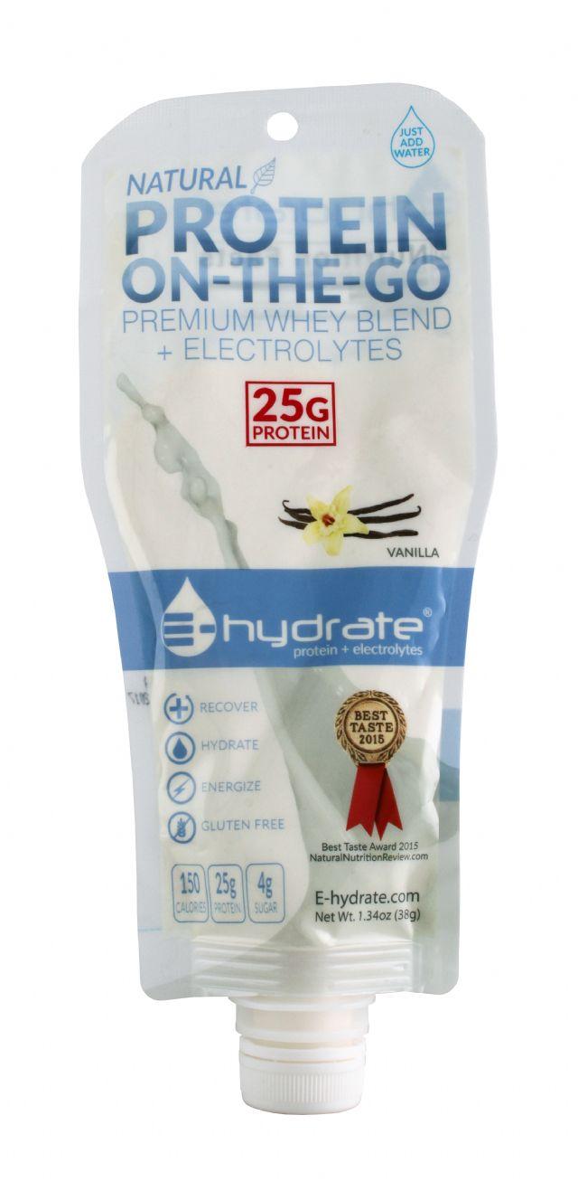 E-hydrate: Hydrate Vanilla Front