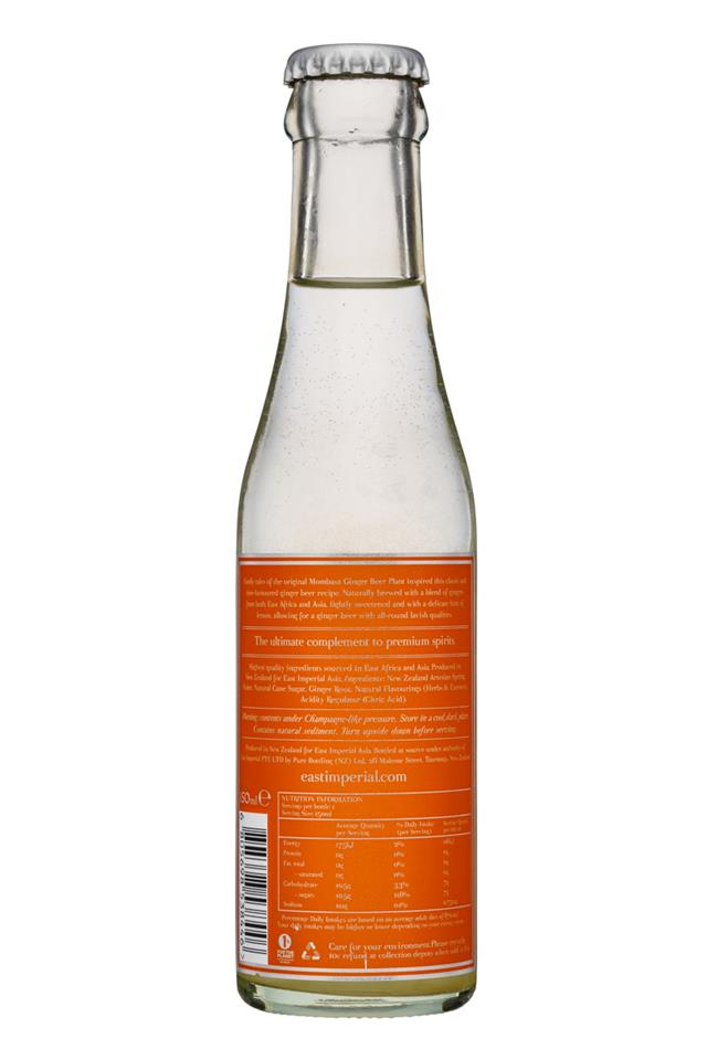 East Imperial: EastImperial-150ml-GingerBeer-Facts