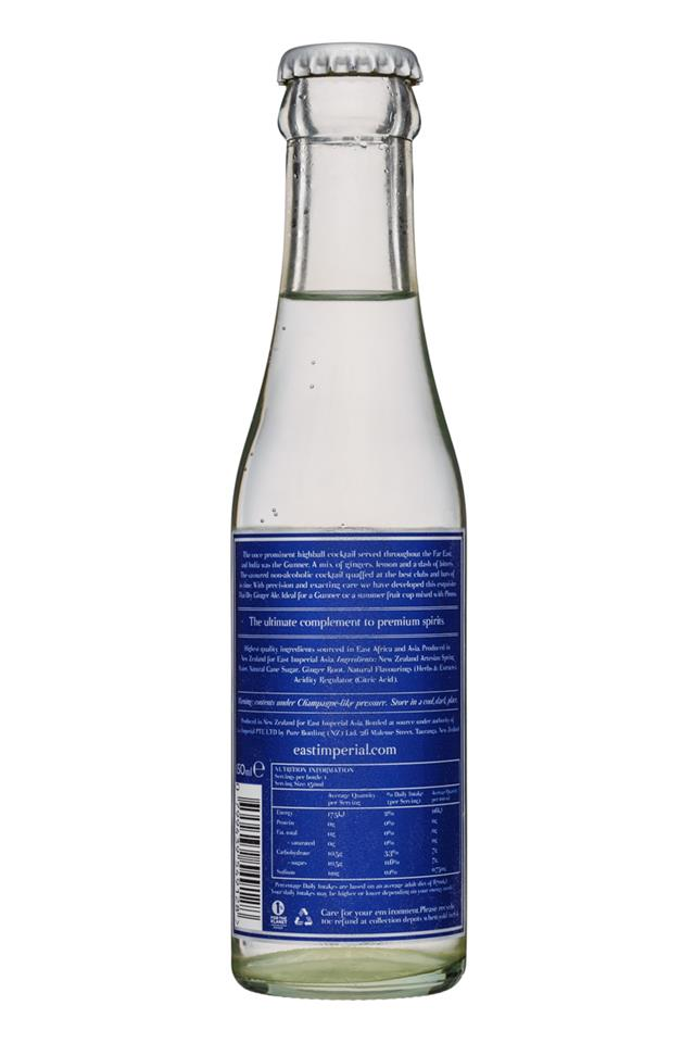 East Imperial: EastImperial-150ml-ThaiGingerAle-Facts
