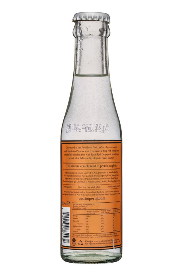 East Imperial: EastImperial-150ml-GrapefruitTonic-Facts