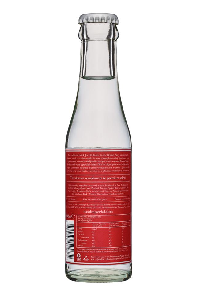 East Imperial: EastImperial-150ml-TonicWater-Facts