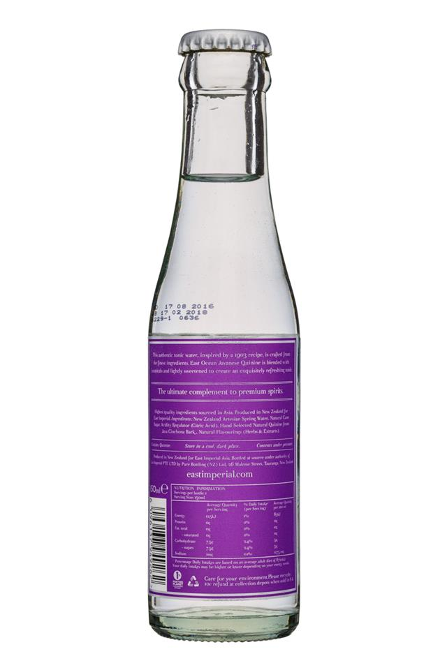 East Imperial: EastImperial-150ml-OldWorldTonic-Facts