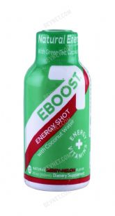 EBOOST Energy Shot with Coconut Water
