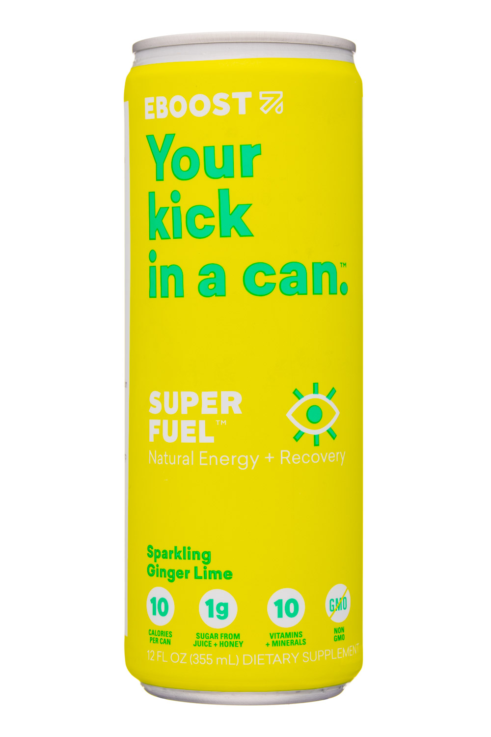 SuperFuel: Sparkling Ginger Lime