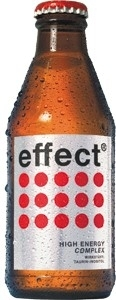 effect: effect 200 ml refillable glas bottle
