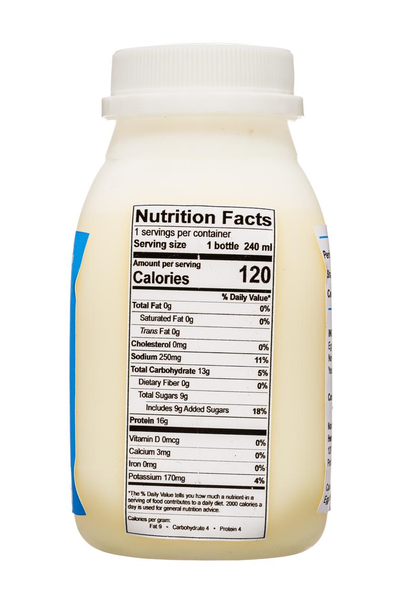 Eggurt Drink: EggurtDrink-8oz-Facts