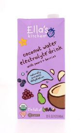 Coconut Water Electrolyte Drink w/Pears & Berries
