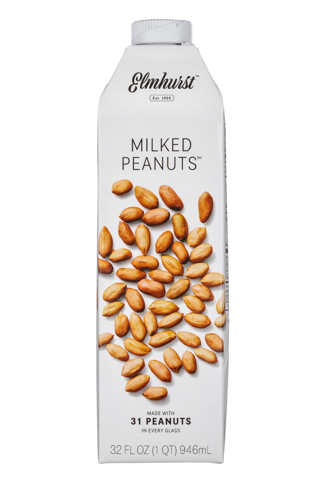 Elmhurst: Elmhurst-32oz-MilkedPeanuts-Front